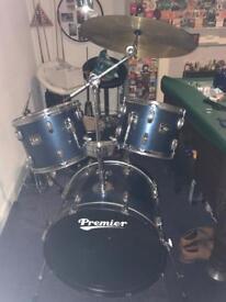 Drum kit sold as seen