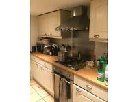 Kitchen - units, cooker, washing machine