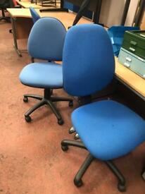 Blue Adjustable Computer Chair REDUCED