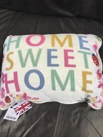 Job lot of 30 x Tesco home sweet home cushions