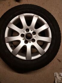 "15"" VW Spare Alloy Wheel."