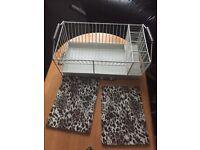 White draining board rack