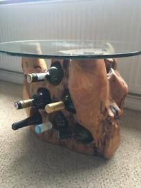 Wine Table Cedar Wood