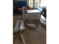 Ninetendo Wii with 8 games £50