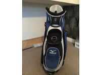 Mizuno Aerolight cart bag in Blue