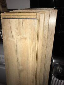 Oak wood floor approx 3m