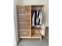 IKEA Nordkisa Bamboo Wardrobe