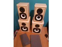 Two Pairs of HiFi Speakers. Eltax Symphony