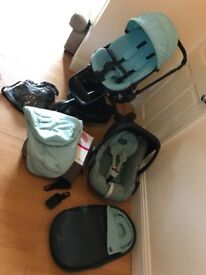 Quinny moodd travel system in limited edition novel nile