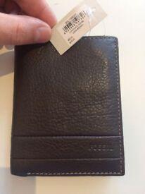 Fossil Wallet- Mens