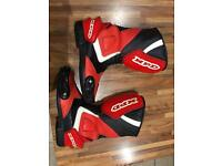 Motorbike boots size 7