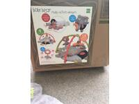 Baby bear 4 in 1 Play mat with tummy time cushion