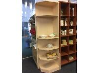 Light wood colour corner unit #40169 £50
