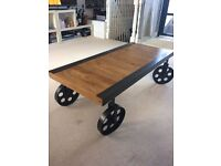 Industrial coffee table £75