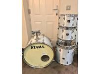 Tama vintage Swingstar 5 piece drum kit including snare