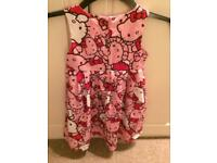 Hello kitty dress 5-6