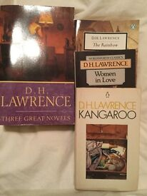 D H Lawrence novels