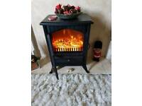 Electric log burner