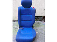 Peugeot Partner/Berlingo Van rear seat plus seatbelt