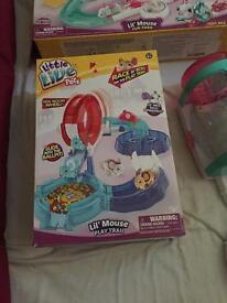 Little live pets 3 new sets.