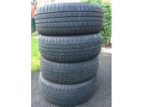 Set of 4 winter tyres 205/55/R16 91H
