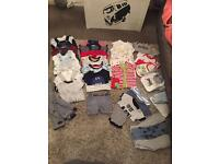 0-3 baby boy's clothes bundle