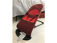 BABYBJÖRN Soft Balance Bouncer Red FOR SALE