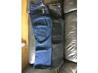 2 x pairs of brand new jeans size 14 bootcut