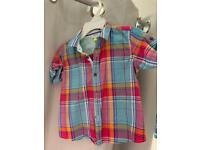 Boys kids Ted Baker shirt top age 9-12 months £8