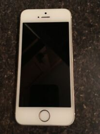 iPhone 5s gold mint condition unlocked