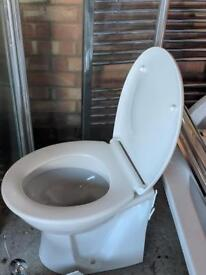 Back to Wall Toilet - Working in Good Condition