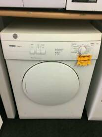 BOSCH 6KG VENTED DRYER IN WHITE