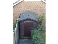 *Garden shed for sale* 5ft x 7ft. COLLECTION AND DISMANTLE ONLY BY 2ND JULY
