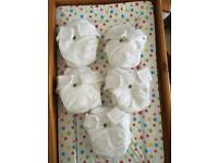 5 little lamb bamboo nappies size 2