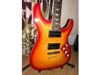 Ghost Bridge & P-Rail Equipped Guitar