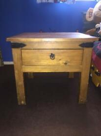 Table / bedside / draw
