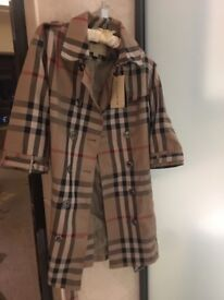 Burberry trench coat size 8 - 10