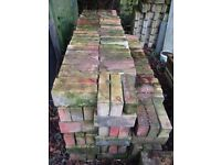 400 peachy/yellow buff floor bricks