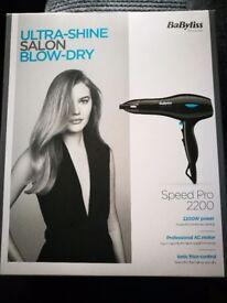 Babyliss Hairdryer Brand New