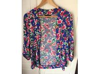 New Look floral blazer- size 12