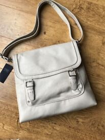Women's Shoulder Hand Bag from M&S Collection in Stone - New with tags