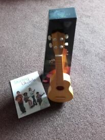 ukulele with tuition book and cd