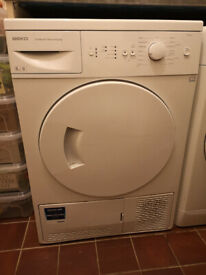 Beko DSC85W Condenser Sensor Dryer 8KG [Faulty Spares/Parts Only]