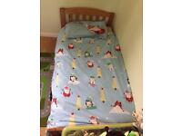 Toddler bed and boys bedding