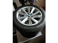 BMW 5 Series 2013 4 wheels Good condition