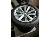 BMW 5 Series 2013 tyres Good condition