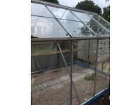 Greenhouse requires couple pieces of glass