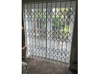 Security Grilles, Sliding Grill, Collapsible grills, Concertina Grille Retractable Grilles