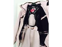 Girls Tog 24 Ski Jacket, Gloves & matching Salopettes