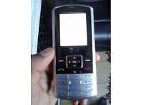 LG silver phone